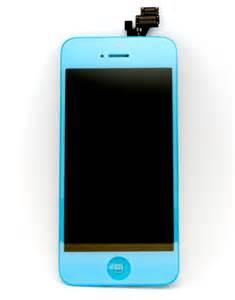 light iphone iphone 5 screen display light blue screens iphone 5