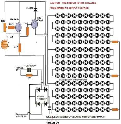How Build Automatic Night Light Control Switch