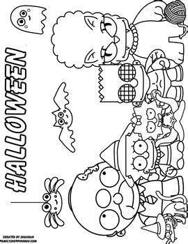 coloring page  simpsons halloween coloring pages