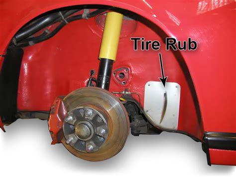 Elephant Racing • Tire Rub Prevention Kit For Porsche 911