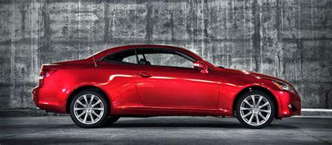2013 Lexus Is Convertible