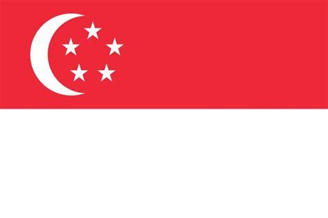 gambar bendera bendera singapura