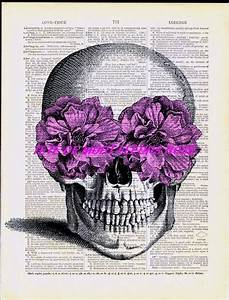 Tete De Mort Fleur : 25 best ideas about dessin tete de mort on pinterest tete mort image tete de mort and ~ Mglfilm.com Idées de Décoration