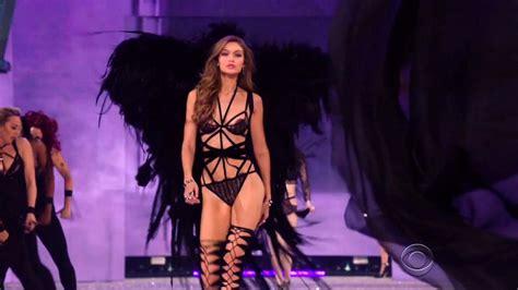 Gigi Hadid Victoria's Secret Runway Walk Compilation 2015 ...