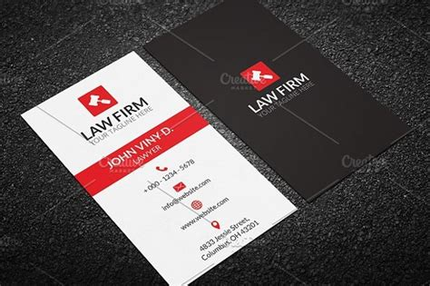 lawyer business cards psd ai ms word examples