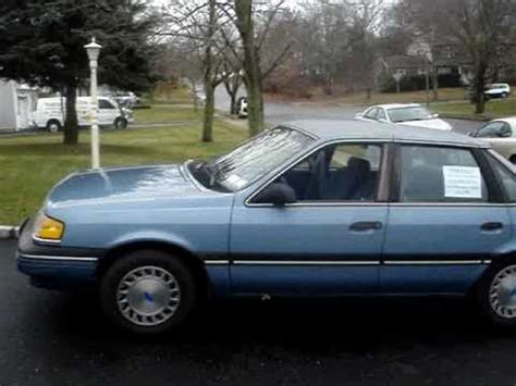 books about how cars work 1989 ford tempo parental controls 1989 ford tempo gl 89k original miles rare 5 speed sold youtube