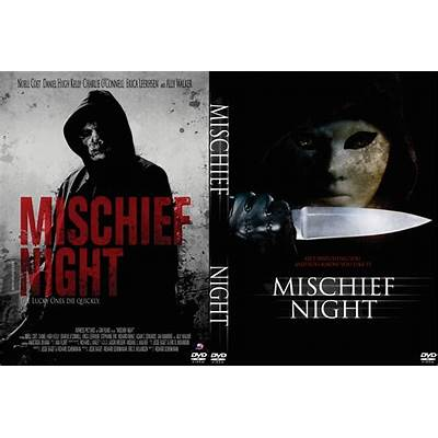 Mischief Night (2013) R0 Custom Front DVD Cover