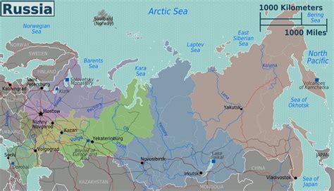 Ģeogrāfiskā karte - Krievija - 3,008 x 1,728 Pikselis - 1 ...