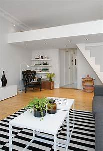 Custom Built Small Loft Apartment In Stockholm