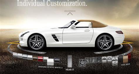2012 Mercedes-benz Sls Amg Roadster Online Configurator