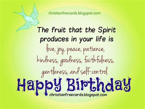 card happy birthday  love peace joy  christian