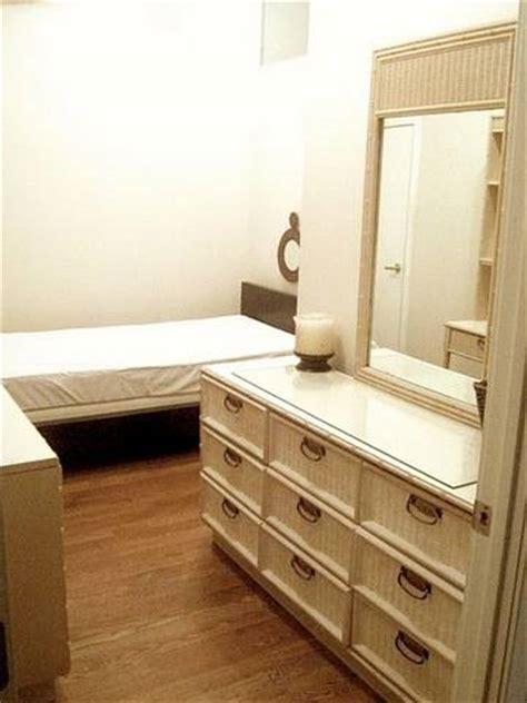 modern bed  drawer vanity dresser desk bookshelf combo