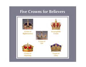 Five Crowns for Believers in the Bible