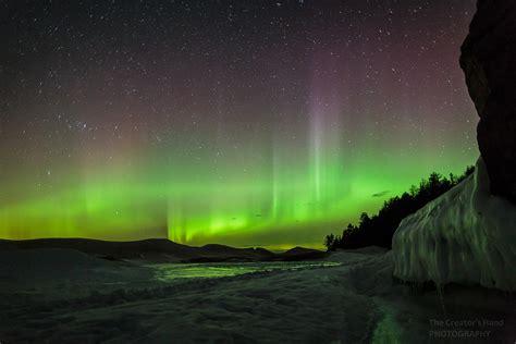 U.P. Aurora-8 | Northern Lights on 3/18/15 along the Lake ...
