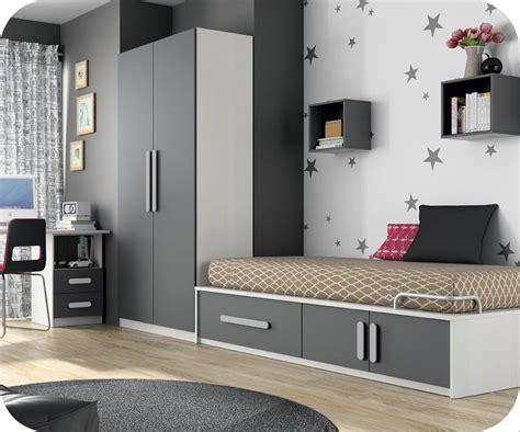 armoire de chambre blanche chambre enfant planet blanc et gris anthracite