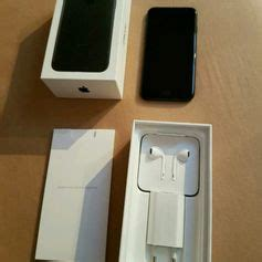 Gebraucht Iphone 7 Neuwertig 32 Gb Schwarz Rechnung In