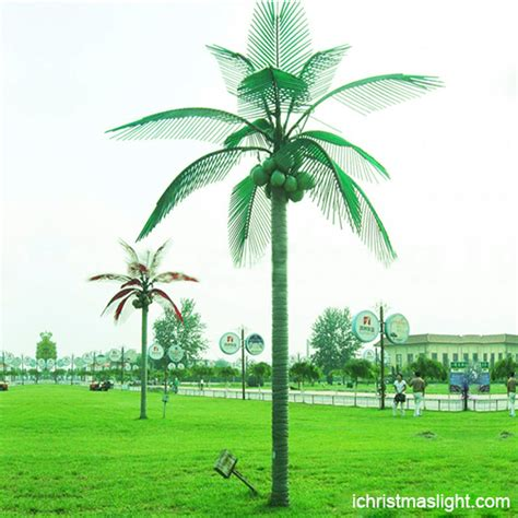customized outdoor led palm trees  sale ichristmaslight
