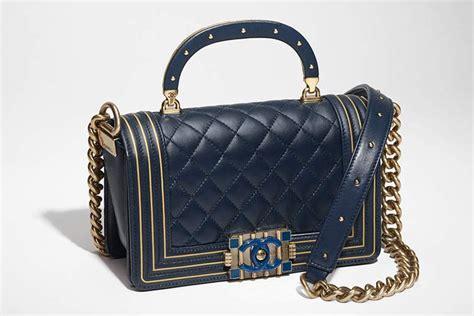 chanel boy studded handle bag bragmybag