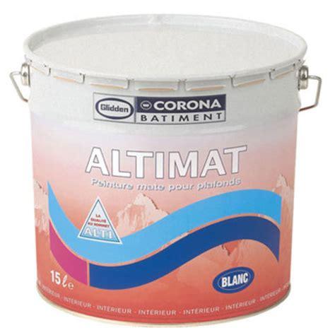 peinture glyc 233 rophtalique blanche pour plafonds corona