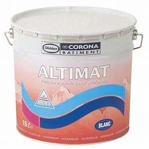 peinture glycerophtalique blanche pour plafonds corona With peinture blanche pour plafond