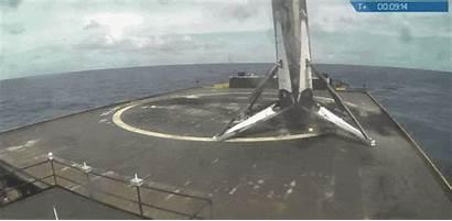 Falcon Landing Rocket Spacex Second Successful Core