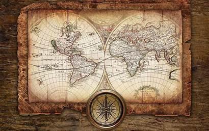 Map Antique Background Mac