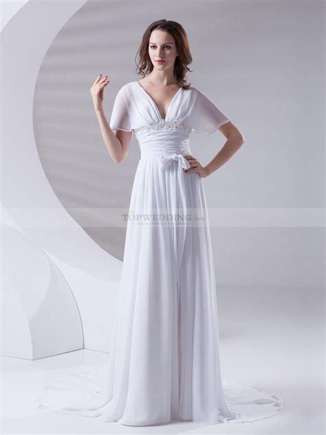 sleeve chiffon a line dress butterfly sleeves chiffon a line evening dress with beaded