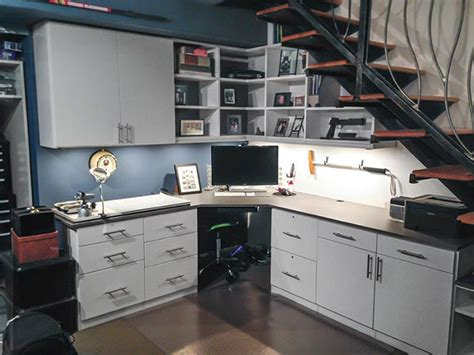 home office storage ideas   man cave office