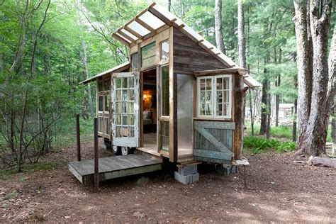 tiny home living 127 square foot tiny house in the catskills fits three for 125 night 6sqft