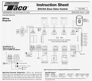 Taco Zone Valve Wiring Schematic