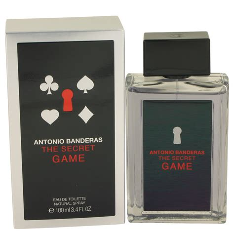 antonio banderas video game antonio banderas the secret game men s fragrances buy