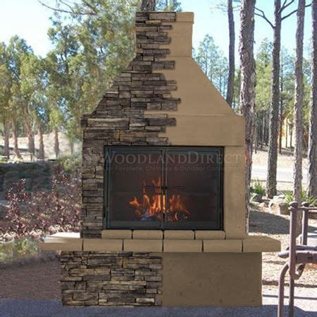 Bbq And Fireplace - mirage outdoor wood burning fireplace w bbq