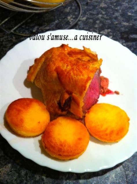 cuisiner le foie de boeuf roti de boeuf en croute et foie gras valou s 39 amuse a