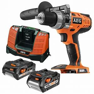 Batterie Aeg 18v 5ah : aeg 18v hammer drill kit with 2 batteries bunnings warehouse ~ Louise-bijoux.com Idées de Décoration