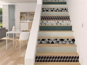 Contre Marche Deco : comment d corer un escalier escalier decoration escalier deco escalier et id e d co escalier ~ Dallasstarsshop.com Idées de Décoration