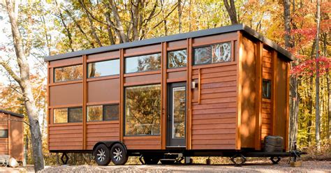 tiny house village  escape opens   midwest curbed