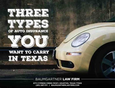 Three Types Of Auto Insurance You May Want To Consider In