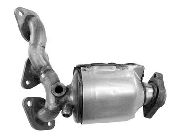 Mazda Mpv Exhaust Manifold With Integrated Catalytic