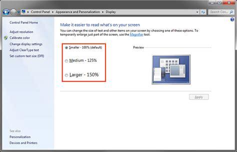 dpi scaling settings on windows hidpi display eizo