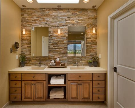 21+ Modern Stone Wall Bathroom Designs, Decorating Ideas Resurface Bathtub Tile Designs How To Plumb A Drain Jacuzzi Repair Rochester Ny Porcelain Shower And Portable Whirlpool For Old Fashioned Faucets
