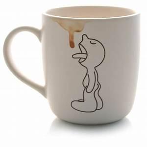 Tasse à Thé : tasse becher mr p leckt kaffeefleck von propaganda geschenkideen gadgets ~ Teatrodelosmanantiales.com Idées de Décoration