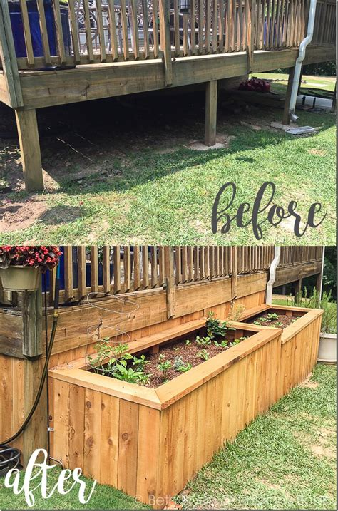 elevated garden bed a backyard makeover with raised garden beds unskinny boppy