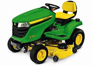 John Deere Select Series X300 Lawn Tractors