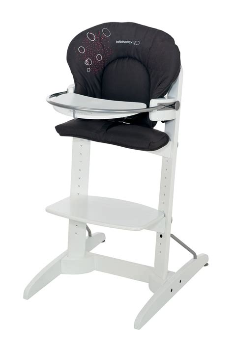 la chaise a quel age bebe va dans la chaise haute