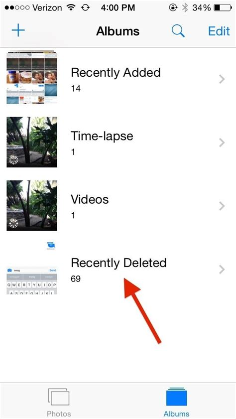 recently deleted photos iphone how to recover deleted photos from your iphone or