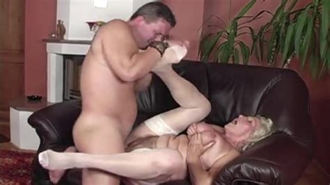 Granny Norma In White Stockings Takes A Creampie Porn A1