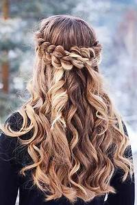 30 Gorgeous Braided Half Up Half Down Hairstyles Hairstyles & Haircuts 2016 2017