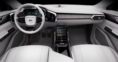volvo unveils  driving concept car promises fleet