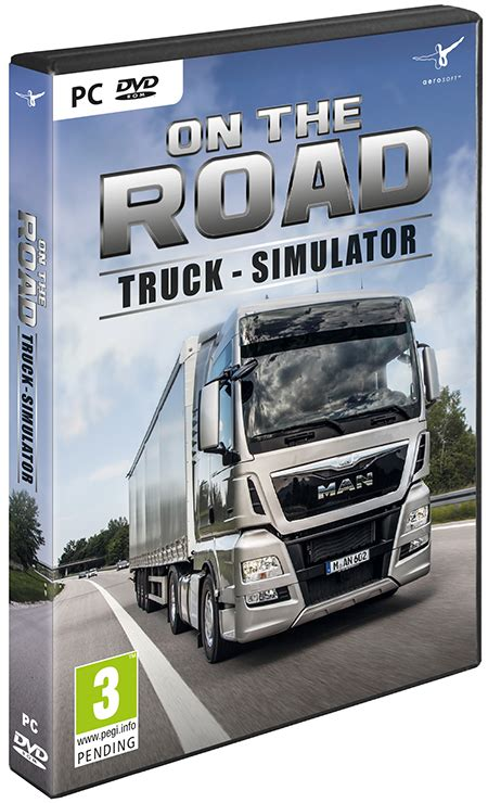 truck simulator on the road early access version on the road truck simulation aerosoft shop