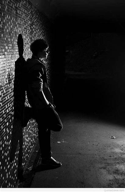 Sad Alone Boy Wallpapers Quotes Miss